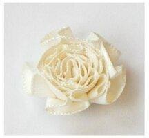 Antiek wit rozet, 24 mm