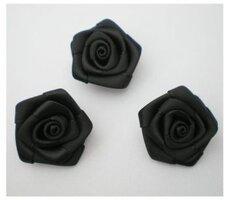 Zwarte roos, 25mm