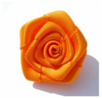 Oranje roos, 25mm