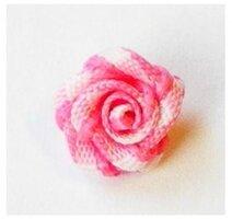 Roosjes roze geruit
