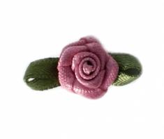 Rosy mauve op strikje , 20mm