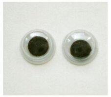 Wiebel oogjes, 7mm