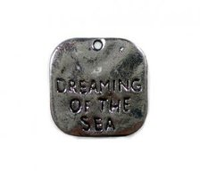 Bedel dreaming antiek zilver