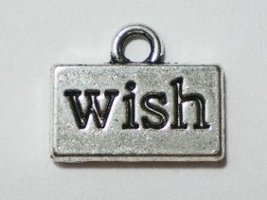 Wish bedeltjes zilver, 18mm