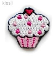Wit/roze cupcake applicaties