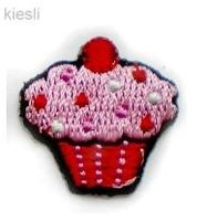 Applicaties Roze cupcake