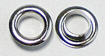 Eyelet zilverkleurig 250st