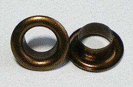Eyelet bronskleurig 250st
