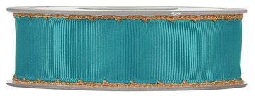 Crochet jade grosgrain