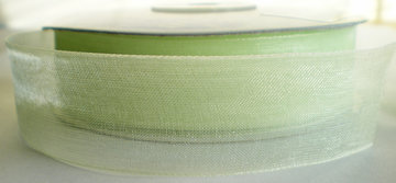 Organza Lime  25mm