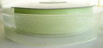 Organza Lime  25mm
