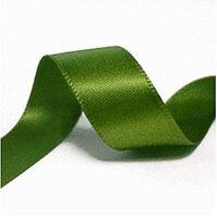 16 mm mos groen satijnlint