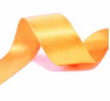 Satijnlint 22mm warm geel
