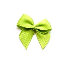 Helder groen strikjes