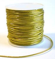 Elastiek rond goudkleurig