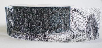 metalic dark zilver kantje