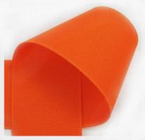 Grosgrain lint oranje