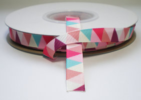 Triangle grosgrain lint