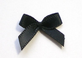 Strikjes zwart 19mm