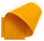 Grosgrain lint donker geel