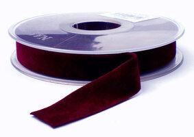 Fluweel lint DZ Bordeaux 15mm