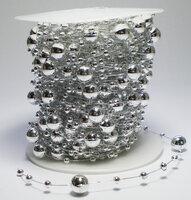 Parelsnoer zilver