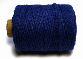 Cotton cord, donker blauw