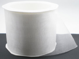 Voile 70mm wit