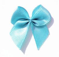 Lichtblauw strikjes