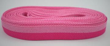 grosgrain lint 2 kleuren roze