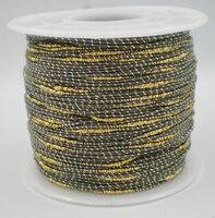 Grijs/goud koordje