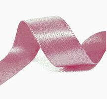 Satijnlint 22mm Rosy mauve