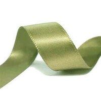 Satijnlint 22mm frans groen