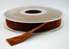 Fluweel lint DZ ochre,15mm