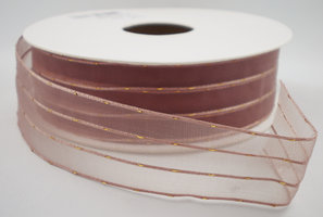 Organza lint antiekroze|goud