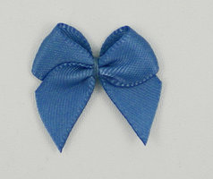 Plak strikjes antiekblauw|100 st.