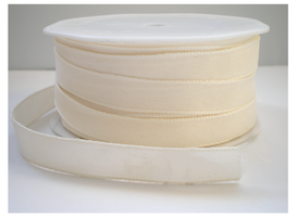Texture lint ivoor,12mm