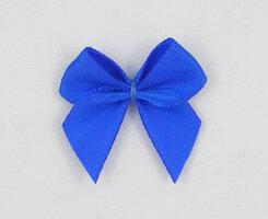 Plak strikjes royal blue 100 st.