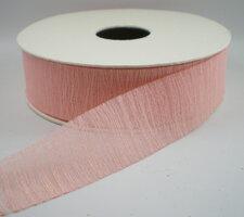 Organza lint roze Mae