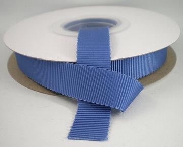 Petersham lint rookblauw|16mm