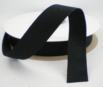 Soft satijnlint zwart|16mm