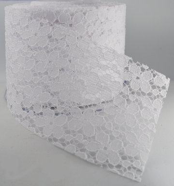 Flower lace 63mm|Wit