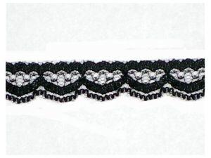 Zwart kant,12mm
