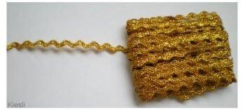 Goud zigzag bandje