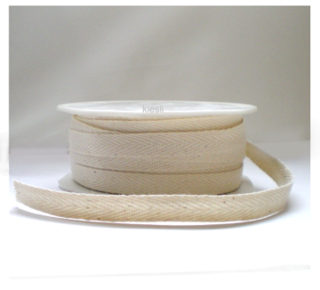 Keperband naturel cotton