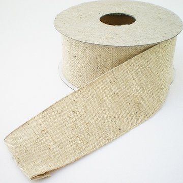 Cotton linen band 38mm