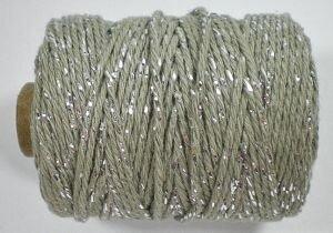 grijs/zilver cotton cord