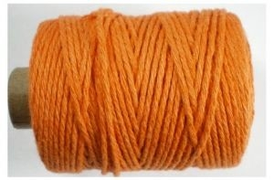 Cotton cord, oranje