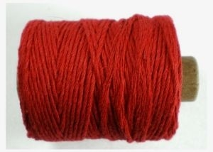 Cotton cord, rood