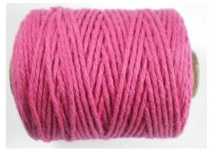 Cotton cord, roze